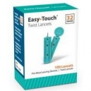 Easy Touch Twist Lancets 100ct