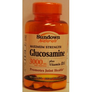 SD Glucosamine HCI 3000mg plus Vitamin D3, Caplets