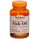SD Fish Oil 12oo mg coted Softgels