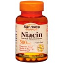 SD Niacin 500MG Caps 50 ct
