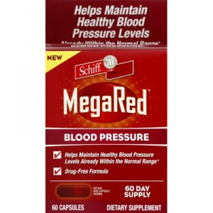 SCHIFF MegaRed Blood Pressure Dietary Supplement
