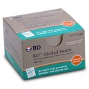 BD ALCOHOL SWABS 100CT